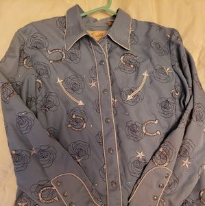 Scully cowgirl shirt